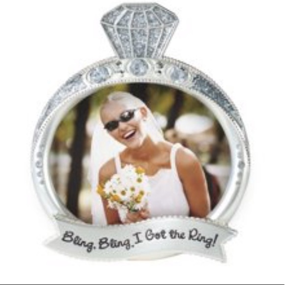Malden Other - Bling Bling I Got The Ring Picture Frame NWT